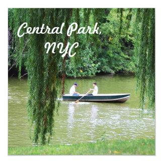Central Park Personalized Invites
