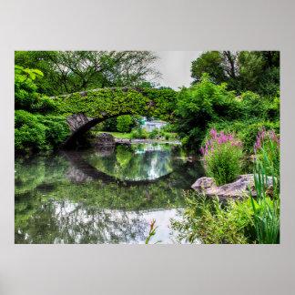 Central Park Landscape Photo Poster
