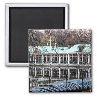 Central Park Loeb Restaurant Boathouse Fridge Magnet