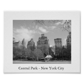 Central Park - New York City Poster