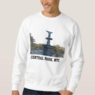 Central Park NYC Bethesda Fountain Angel Sweatshirt