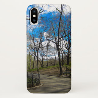 Central Park NYC iPhone X Case