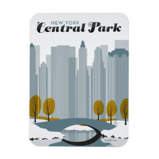 Central Park, NYC - Snow Magnet