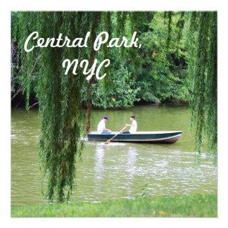 Central Park Personalized Invites