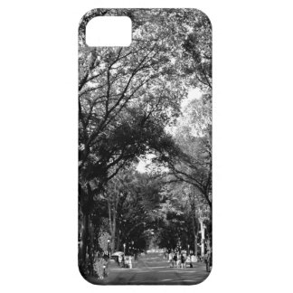 Central Park: Poet's Walk in the Summer BW Barely There iPhone 5 Case