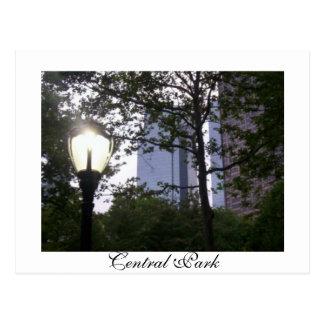 Central Park Postcard