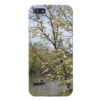 Central Park Row Boat iPhone 5 Case