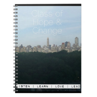 Central Park Skyline Promo Notebook