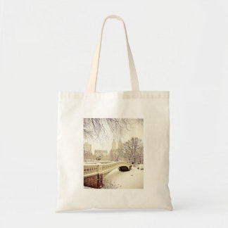 Central Park Snow - Winter New York Tote Bag