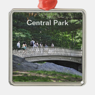 Central Park South- Pinebank Arch Bridge Metal Ornament