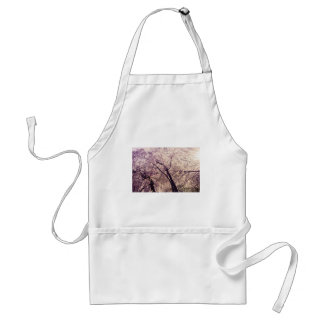 Central Park Spring Trees Adult Apron
