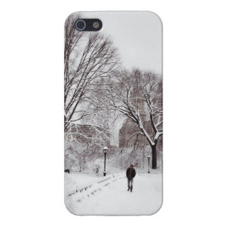 Central Park White Out Case For The iPhone 5