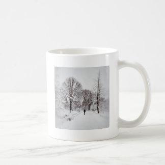 Central Park White Out Coffee Mug
