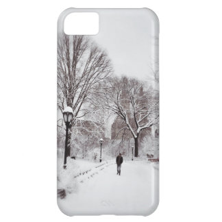 Central Park White Out iPhone 5C Case