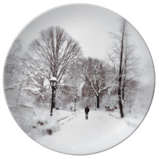 Central Park White Out Plate