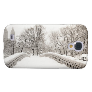 Central Park Winter Romance - Bow Bridge Galaxy S4 Cases