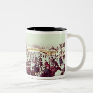 Central Park, Winter: The Skating Carnival Mug