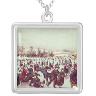 Central Park, Winter: The Skating Carnival Necklaces