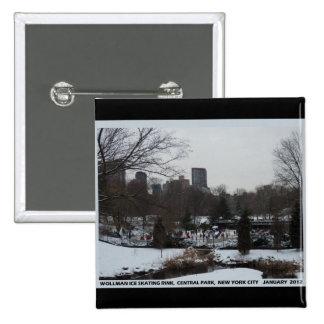 Central Park Wollman Ice Skating Rink Pin