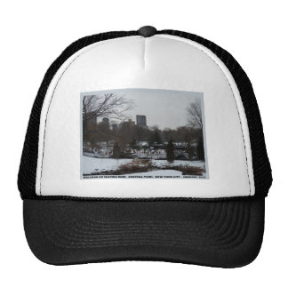 Central Park Wollman Ice Skating Rink Hat