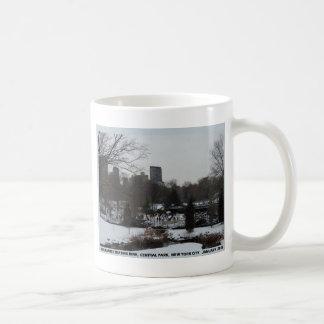 Central Park Wollman Ice Skating Rink Coffee Mug
