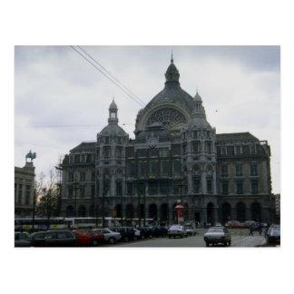 "Central Station"", Antwerp, Belgium Postcard"