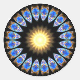 Central Sun Classic Round Sticker