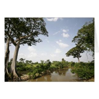 Central Togo, West Africa. Card
