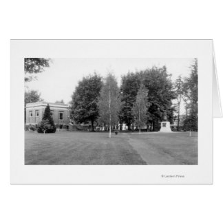 Centralia, WA Town View of City Park Photograph Card