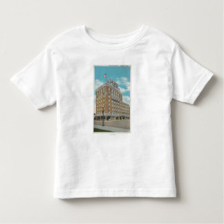 Centralia, WA - View of Hotel Lewis-Clark Toddler T-Shirt