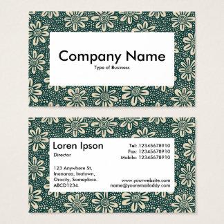 Centre Label v4 - 140617 - Dk Green and Beige Business Card