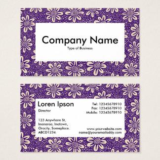 Centre Label v4 - 140617 - Dp Purple and Beige Business Card