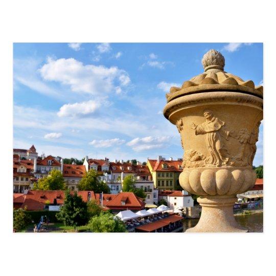 Centre of Prague, Republic Czech Postcard