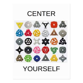 Centre Yourself Postcard