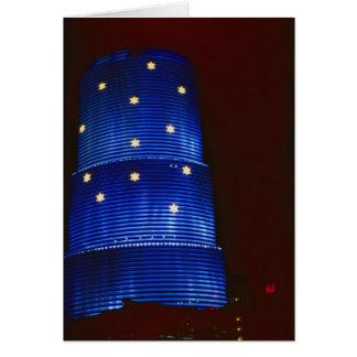 CenTrust building, Miami, Florida, U.S.A. Card