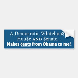 cents bumper sticker