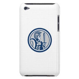 Centurion Roman Soldier Sword Retro Barely There iPod Covers