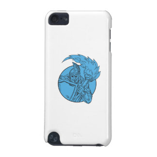 Centurion Soldier Torch Circle Drawing iPod Touch (5th Generation) Covers