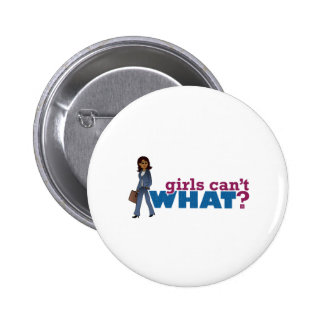 CEO Business Woman 6 Cm Round Badge