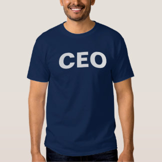 CEO: chief executive officer T-shirt