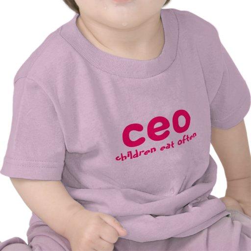 CEO children eat often Tshirts