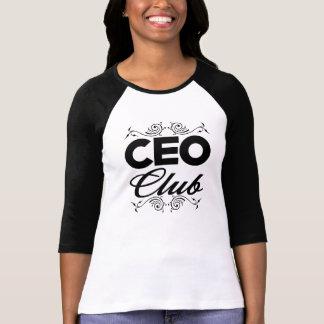 CEO Club Raglan T Shirts