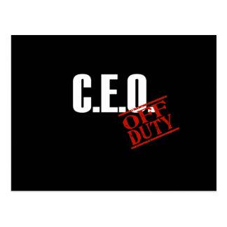 CEO DARK POST CARDS