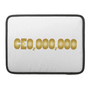 CEO fun attire Sleeve For MacBook Pro