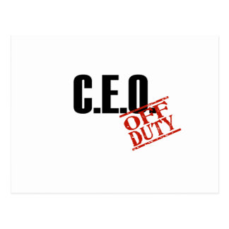 CEO LIGHT POSTCARD