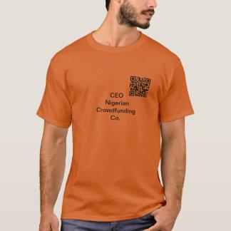 CEO Nigerian Crowdsourcing Co. T-Shirt