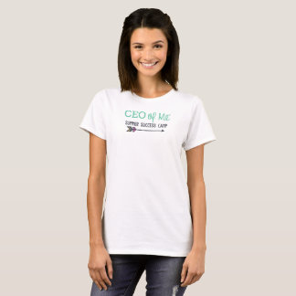 CEO of Me Summer Success Camp Tshirt WOMENS FIT