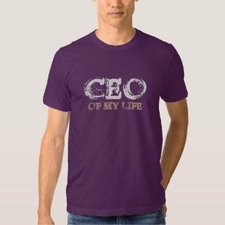 CEO OF MY LIFE grey Shirt