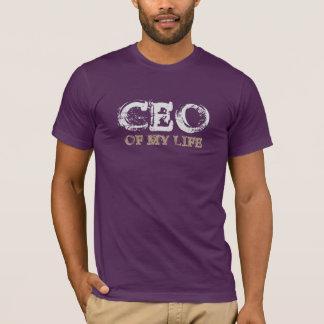 CEO OF MY LIFE grey T-Shirt