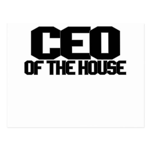 CEO OF THE HOUSE.png Postcards